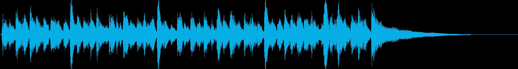 15秒CM、アコギリズム、商品紹介等④の再生済みの波形