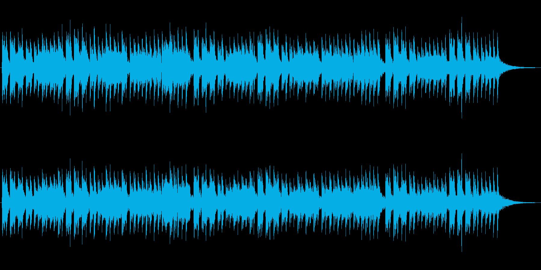 ピチカートとオーボエの悲しげなジングルの再生済みの波形