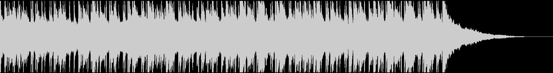 ウクレレ、リコーダーの楽しい楽曲60秒Bの未再生の波形