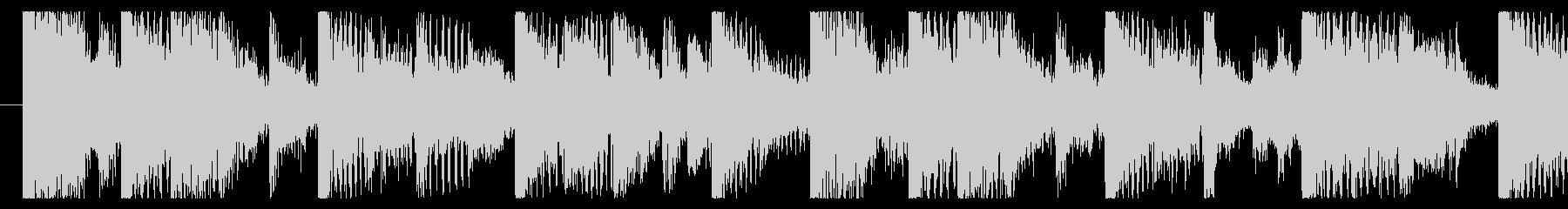 気分の上がるファンクロック-ループ3の未再生の波形