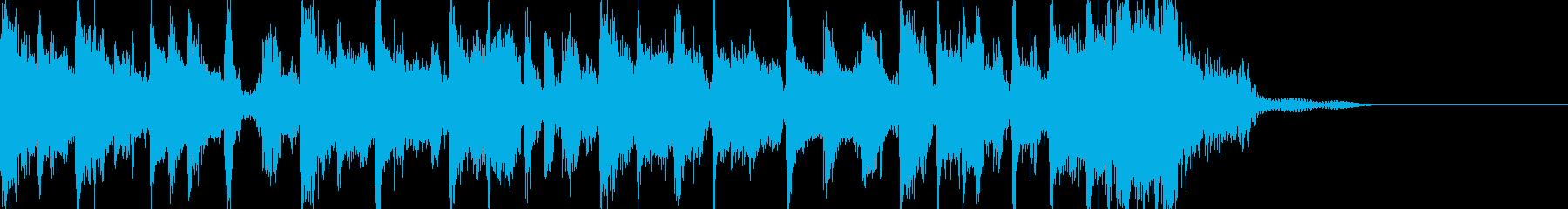 和風 ラップバトル風 さくらメロディーの再生済みの波形
