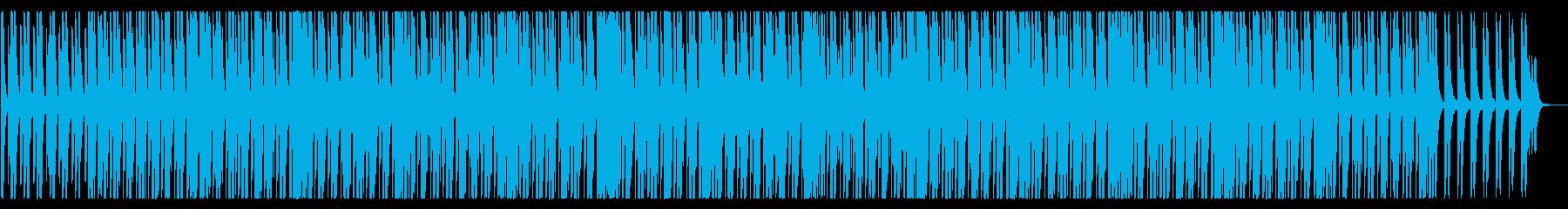 タンゴ(モダンなエレクトロ風)の再生済みの波形
