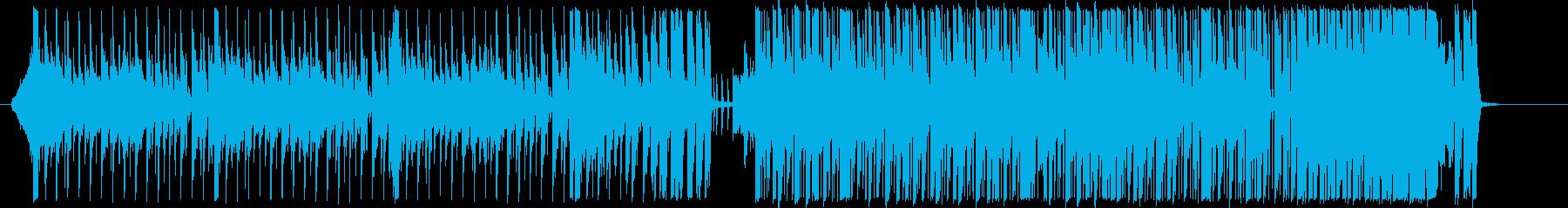 イベント オープニング EDMの再生済みの波形