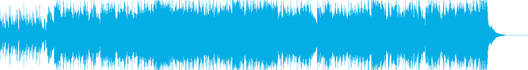 軽快でかわいいエレピポップジングルの再生済みの波形