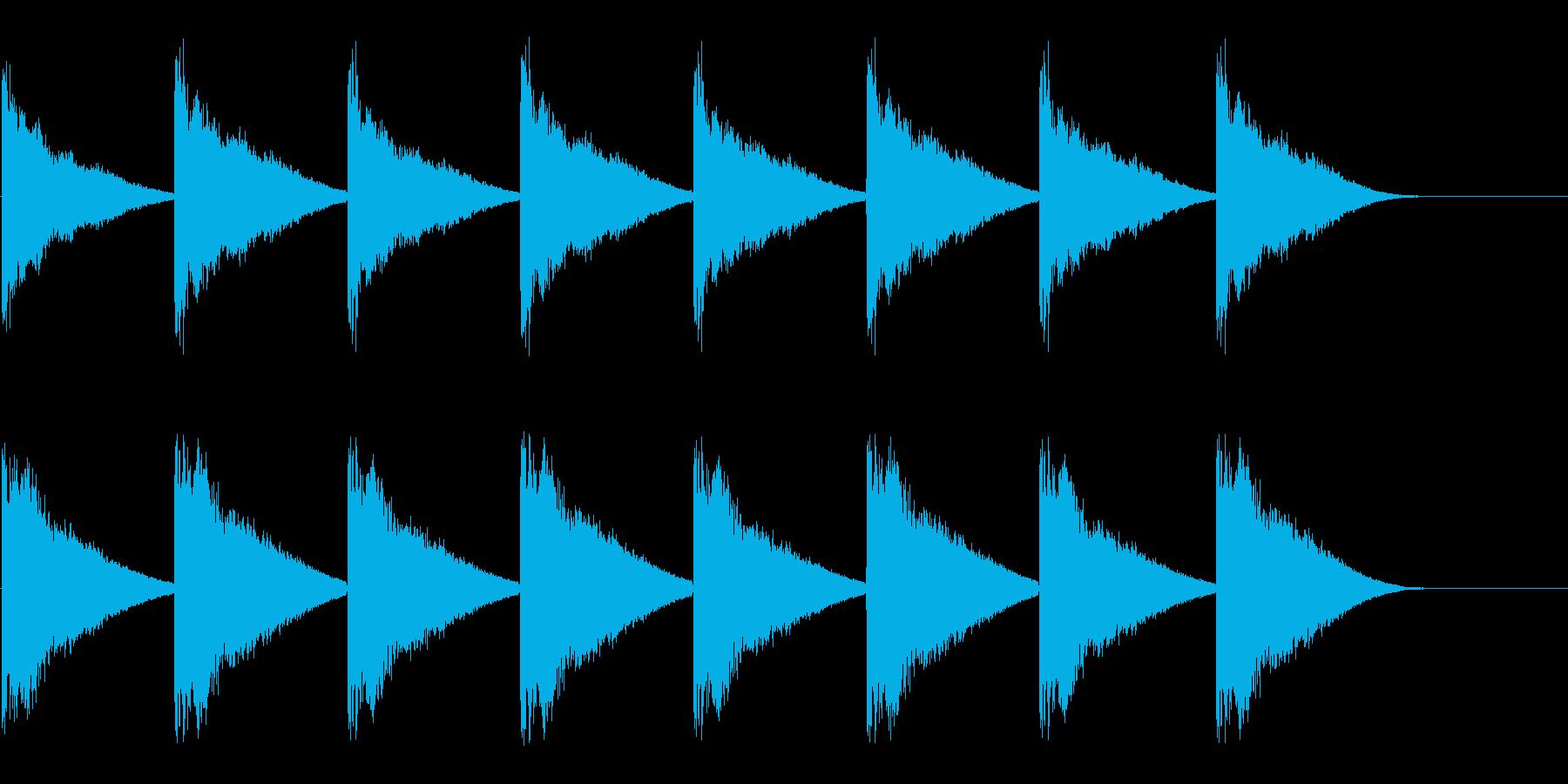 教会の鐘-1-1_revの再生済みの波形