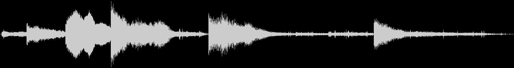 PADS 壊れたピアノ01の未再生の波形