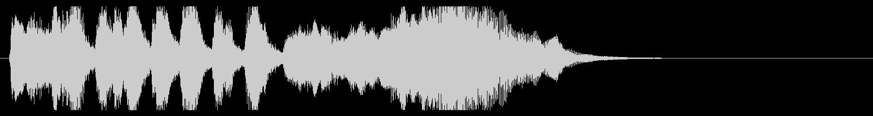 上品で可愛いジングル10aの未再生の波形