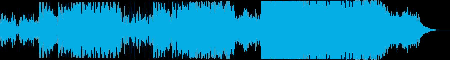 古楽器メインの不思議かわいいBGMの再生済みの波形