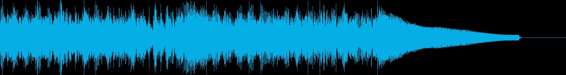 カントリー風ギターイントロ−07Iの再生済みの波形