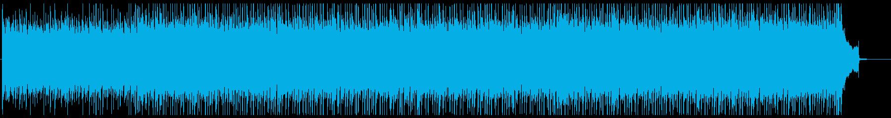 ナチュラルなコマーシャル向けポップ音楽の再生済みの波形