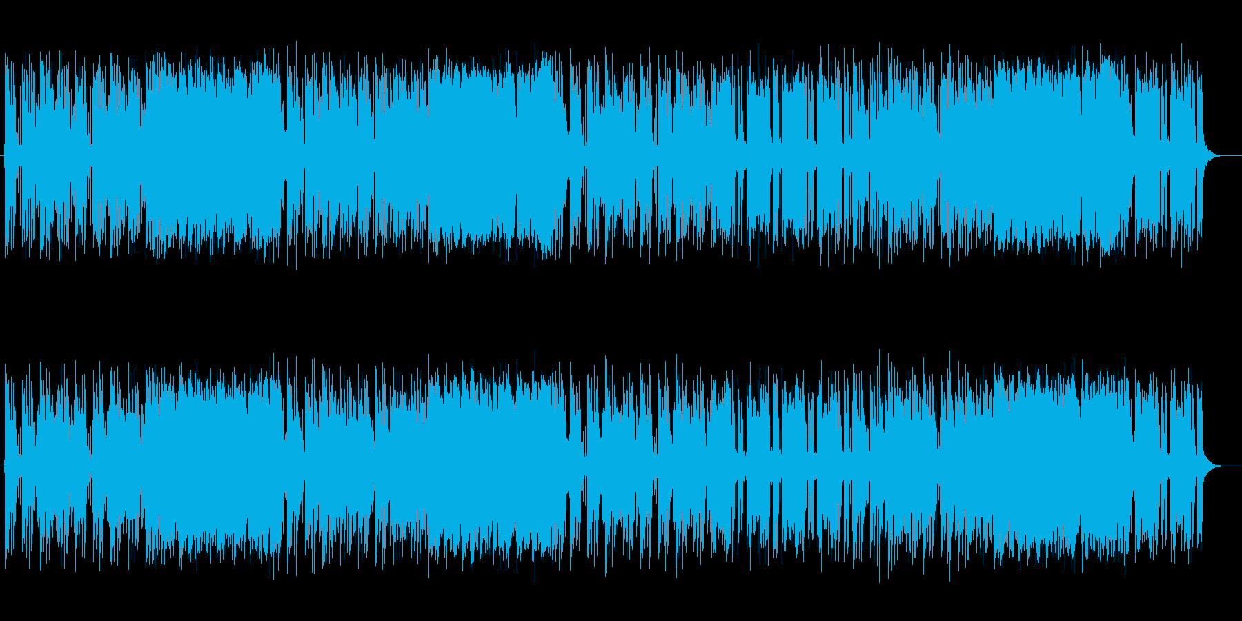 キュートでかわいいメロディのポップスの再生済みの波形