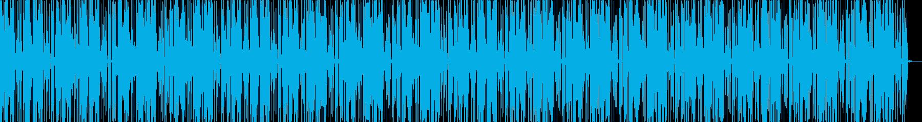 EDMなBGM013の再生済みの波形