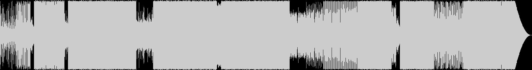 エキゾチックなEDMの未再生の波形