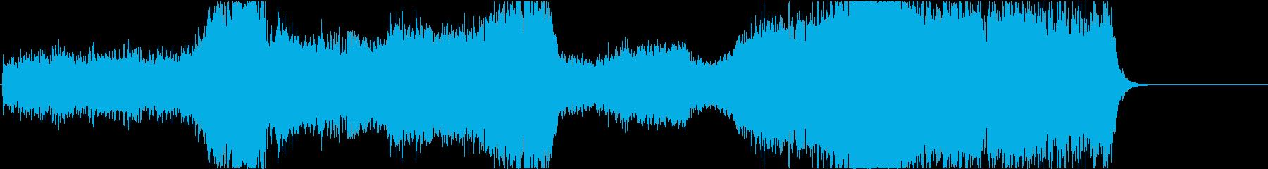 メインテーマに合う壮大なオーケストラ音楽の再生済みの波形