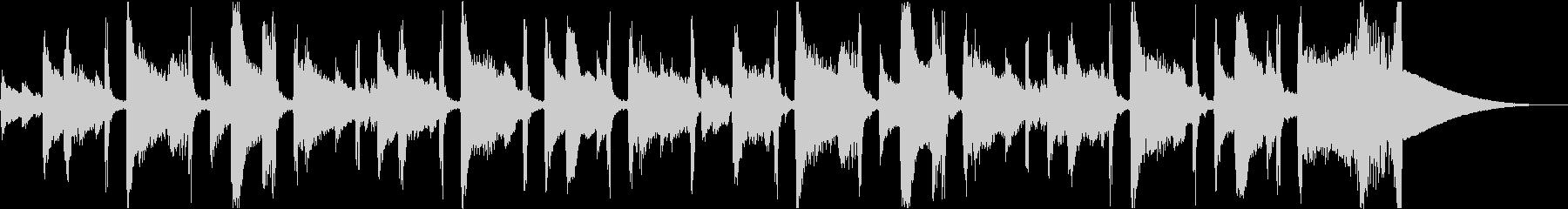 チルアウト洋楽CMアコギヒップホップcの未再生の波形