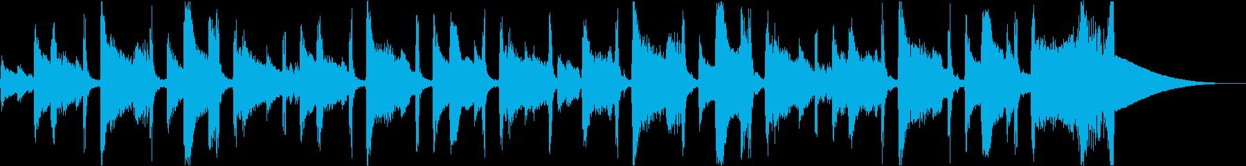チルアウト洋楽CMアコギヒップホップcの再生済みの波形