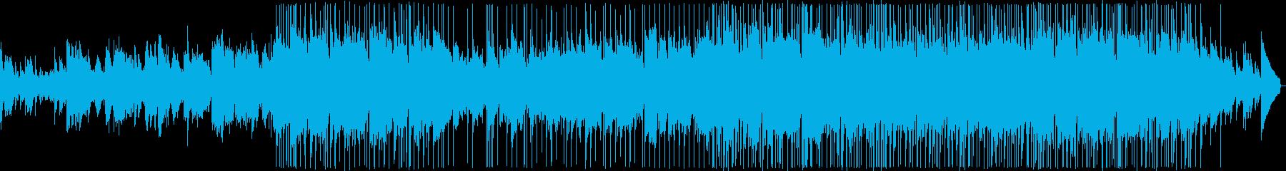 優しい雰囲気のバラードの再生済みの波形