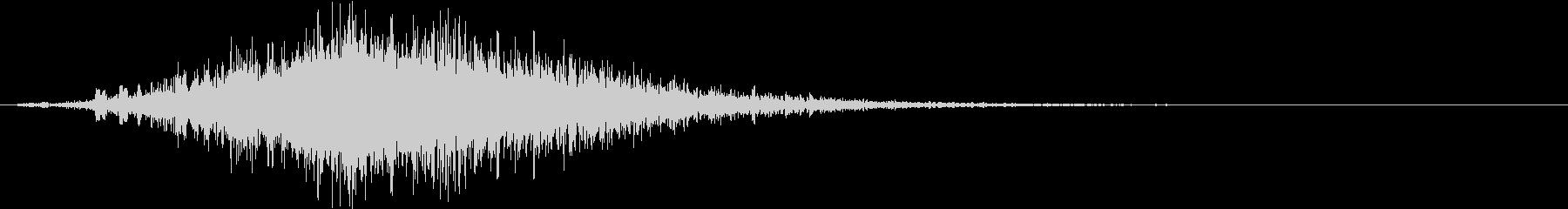 テレビ番組・動画テロップ・汎用UI音aの未再生の波形
