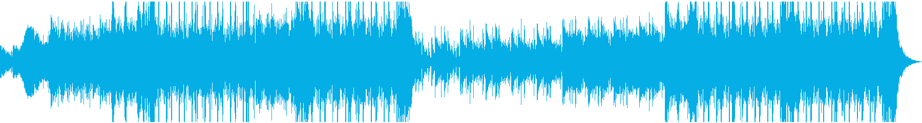 オーケストラとテクノ/インダストリ...の再生済みの波形