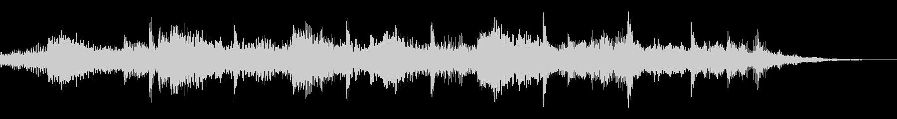 サウンドロゴ【海】潮風砂浜(効果音なし)の未再生の波形