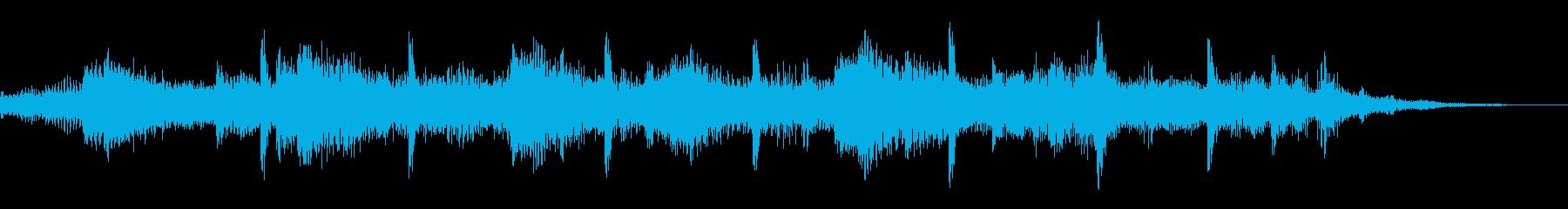 サウンドロゴ【海】潮風砂浜(効果音なし)の再生済みの波形
