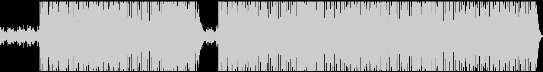 疾走感のあるピアノヒップホップの未再生の波形