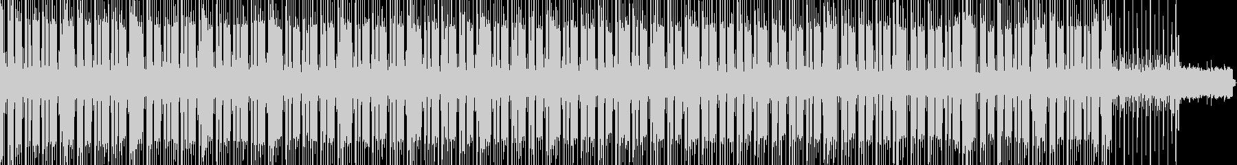 BPM100 哀愁ハウスの未再生の波形