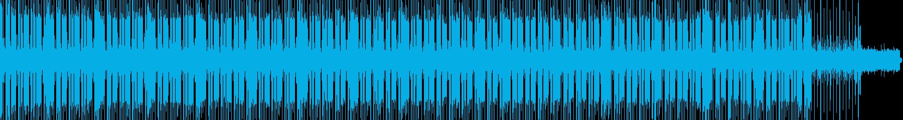 BPM100 哀愁ハウスの再生済みの波形