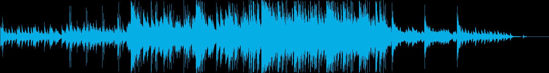 爽やかでどこか切ない夏ピアノの再生済みの波形