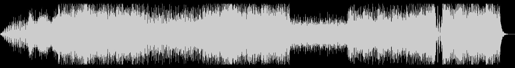 テンション上がるエレクトロミュージックの未再生の波形