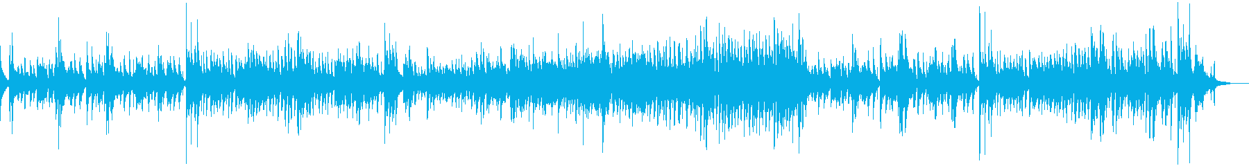 軽くて簡単で楽しいジャズ。ライブジ...の再生済みの波形
