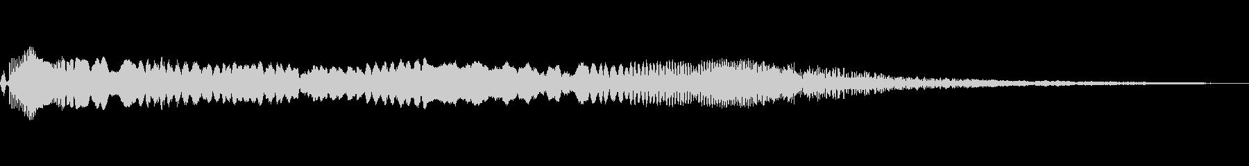 イーグルスクリーチ、エコーの未再生の波形