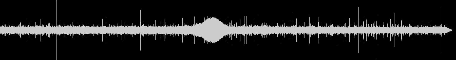 【生録音】日本 東京に降る雨の音 5の未再生の波形