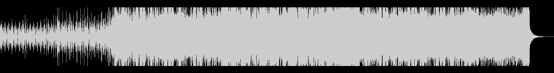 アコギとホーンの軽快なシャッフルビートの未再生の波形