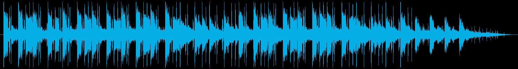エレピ主体のLofiな雰囲気の再生済みの波形