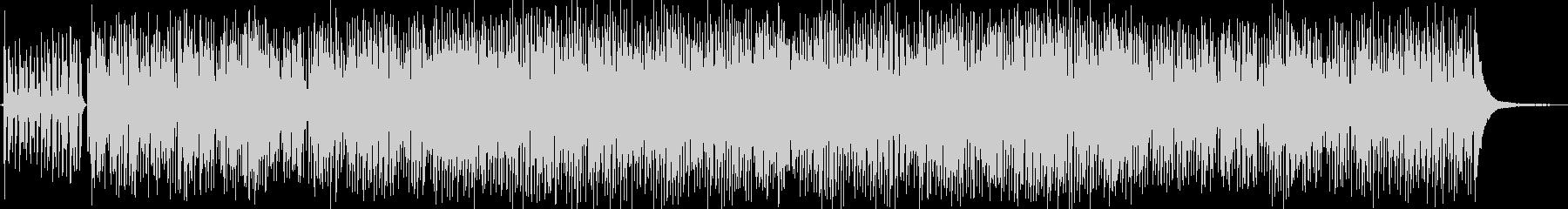 レトロなジプシージャズの未再生の波形