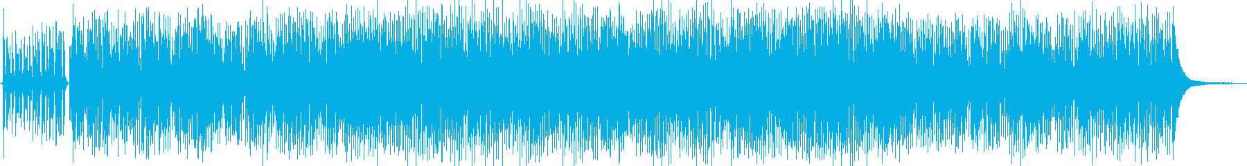 レトロなジプシージャズの再生済みの波形