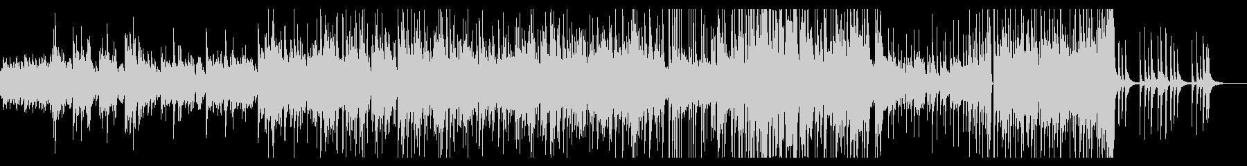 ゆったりアコースティックなピアノインストの未再生の波形
