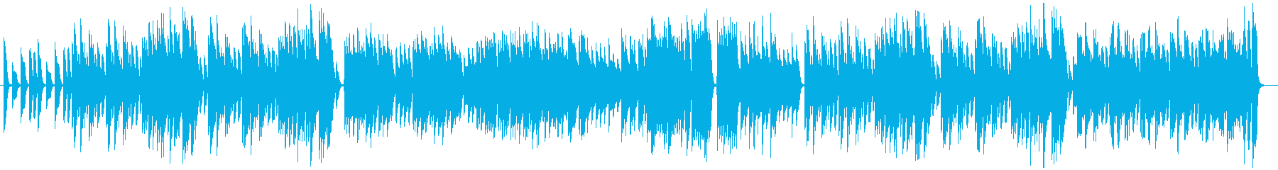 曲の途中でパワーアップするRagの再生済みの波形