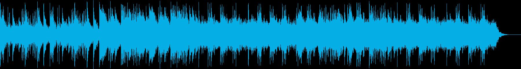 ピアノ/しんみり/夢の中/回想/感動の再生済みの波形