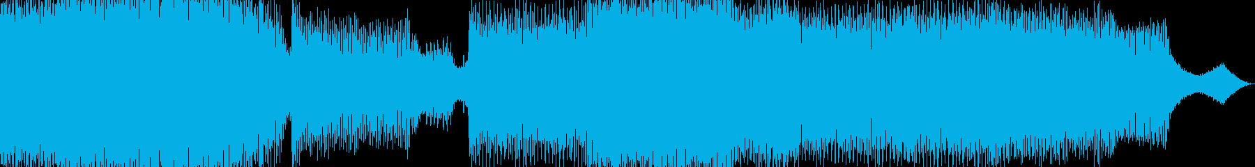 【トランス】疾走感があるかっこいい一曲の再生済みの波形