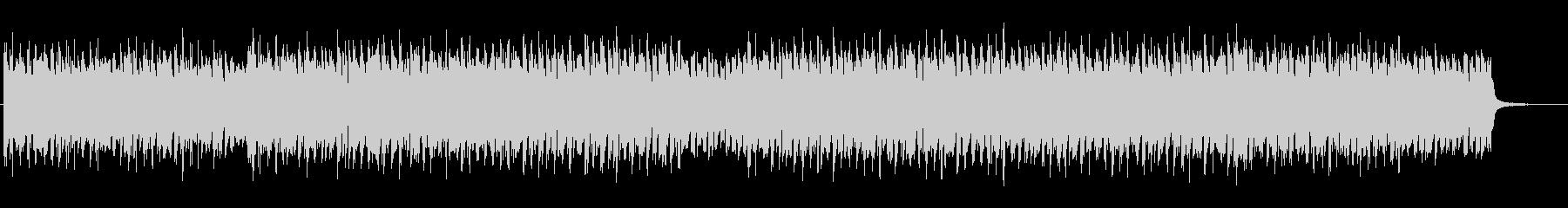 ベースフレーズが目立つテクノBGMの未再生の波形