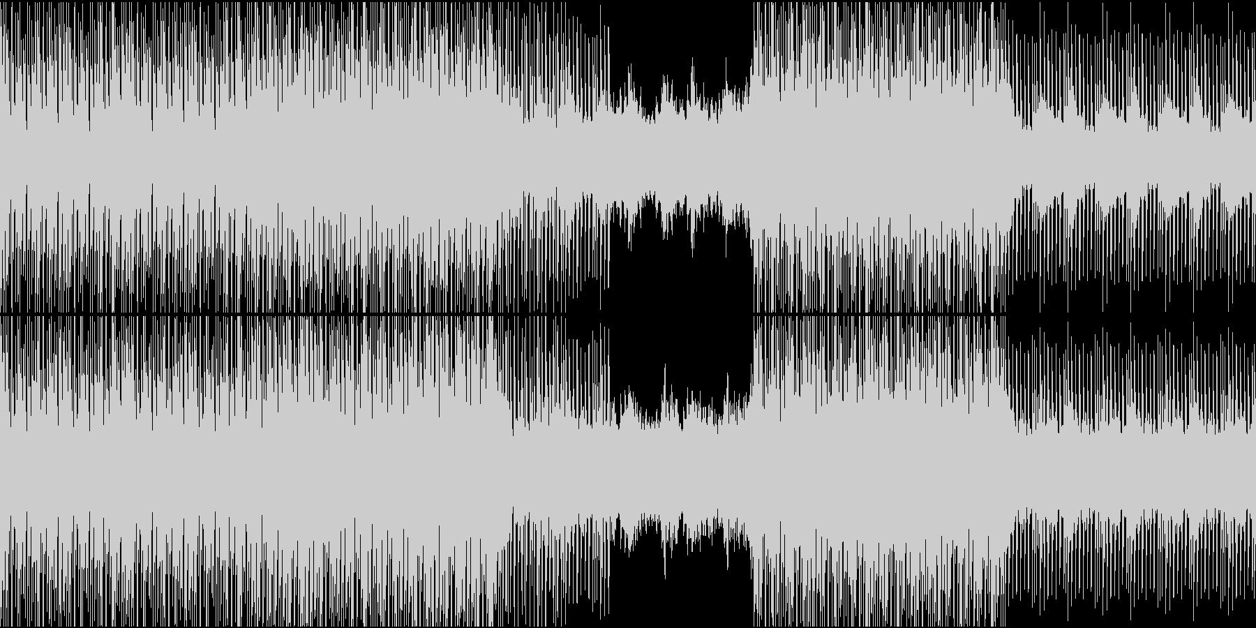 [ループ]ダンスミュージック4の未再生の波形