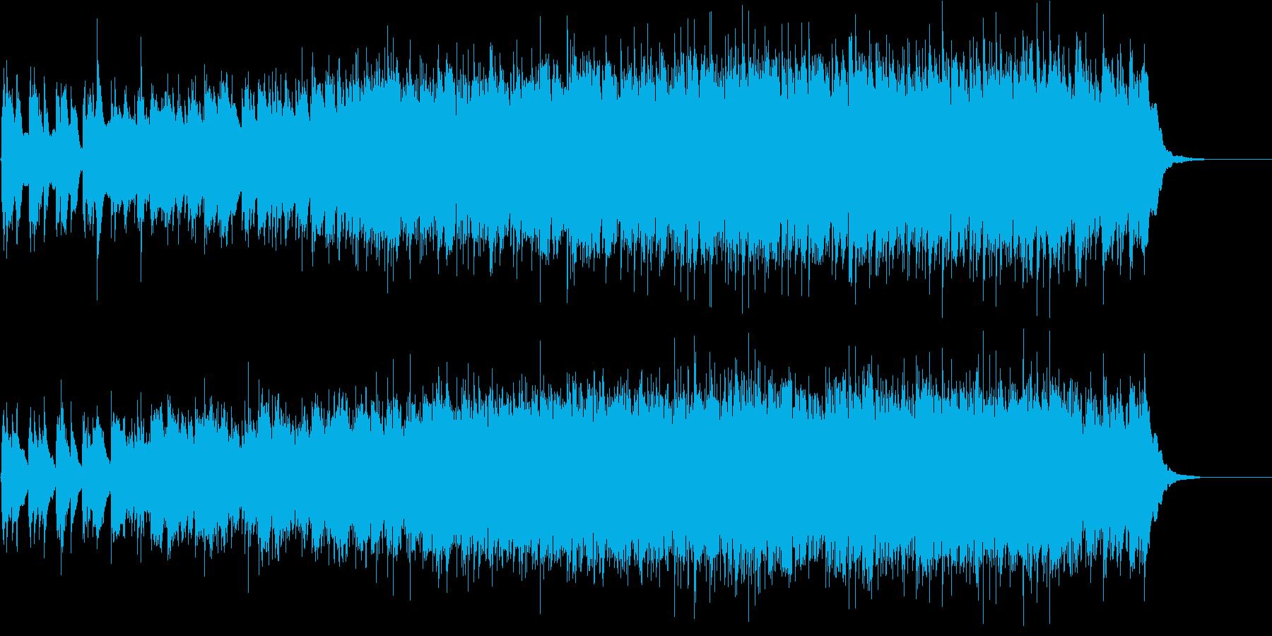 西部劇風アコースティック・ロックの再生済みの波形