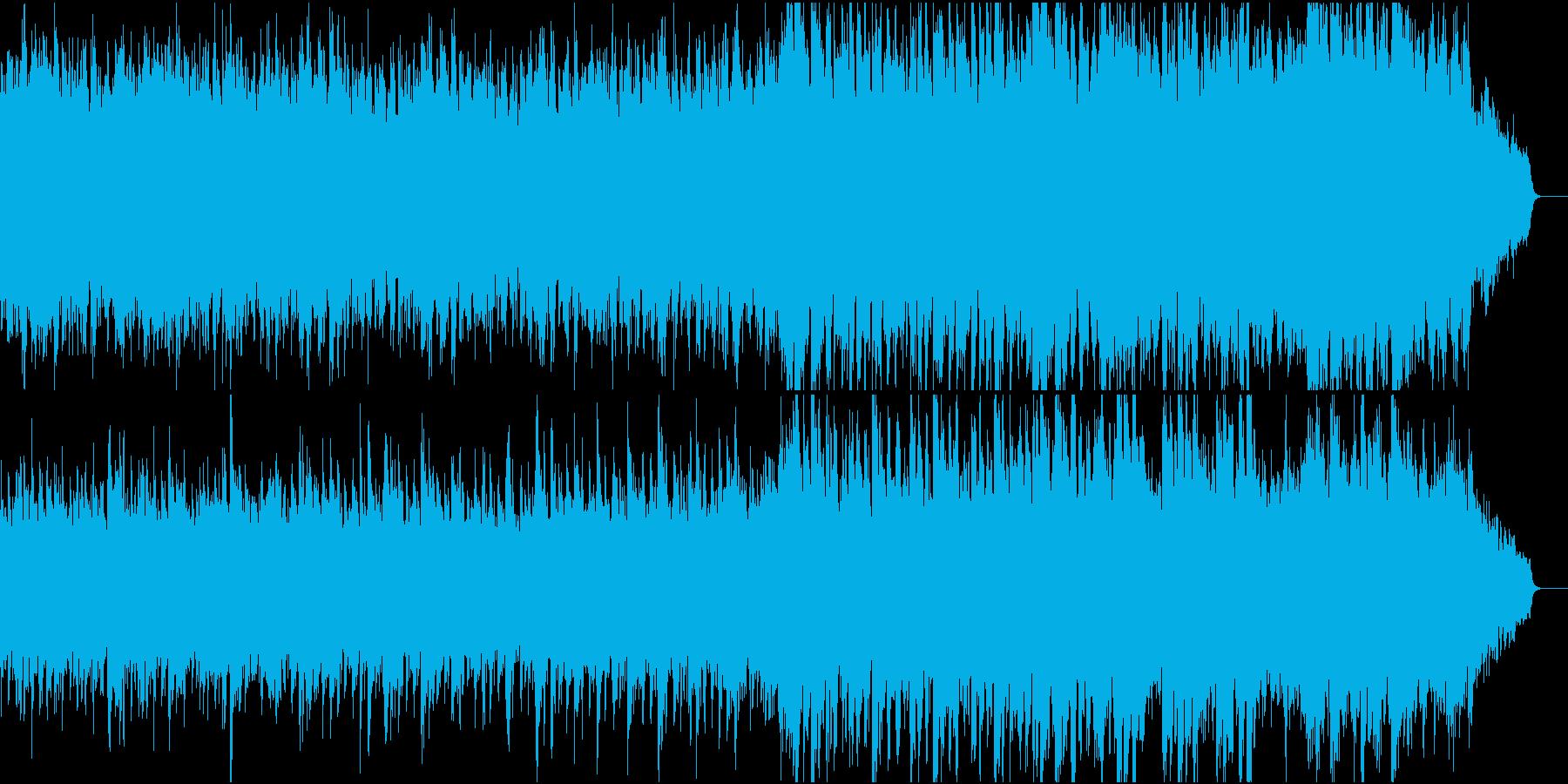 静かで優しい和風オケ①全楽器入りの再生済みの波形