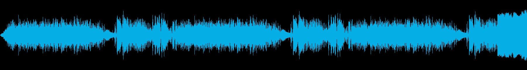 ラジオスタティック1の再生済みの波形