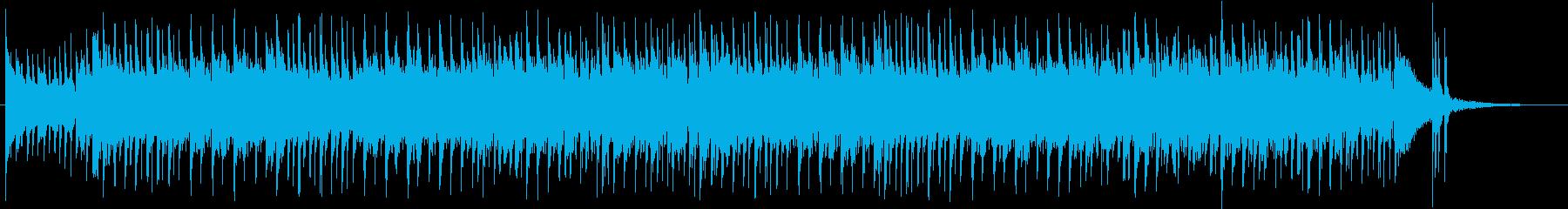 急いで朝の身支度をして出発するBGMの再生済みの波形