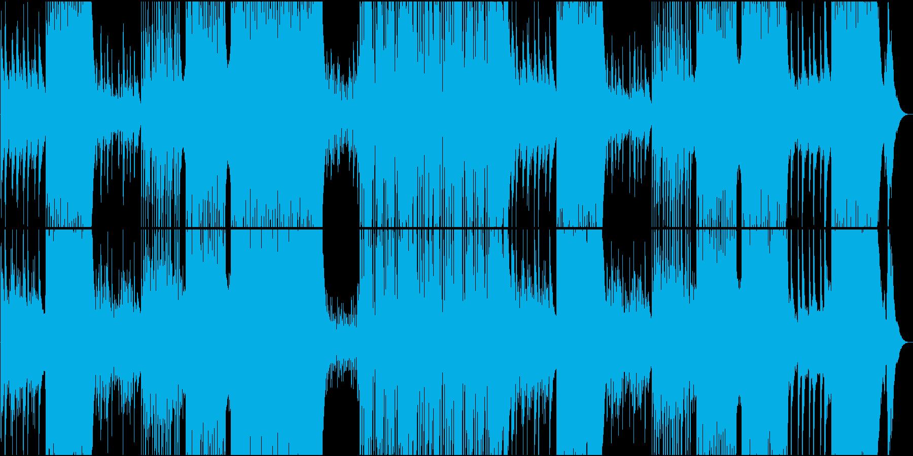 和風琴で奏でるゆったりFutur R&Bの再生済みの波形
