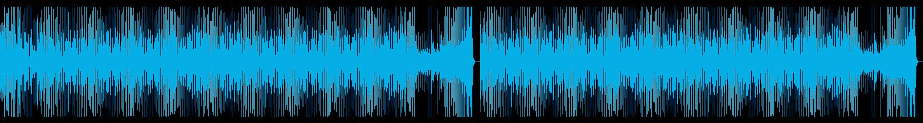 It is a refreshing BGM of Shibuya-kei.'s reproduced waveform