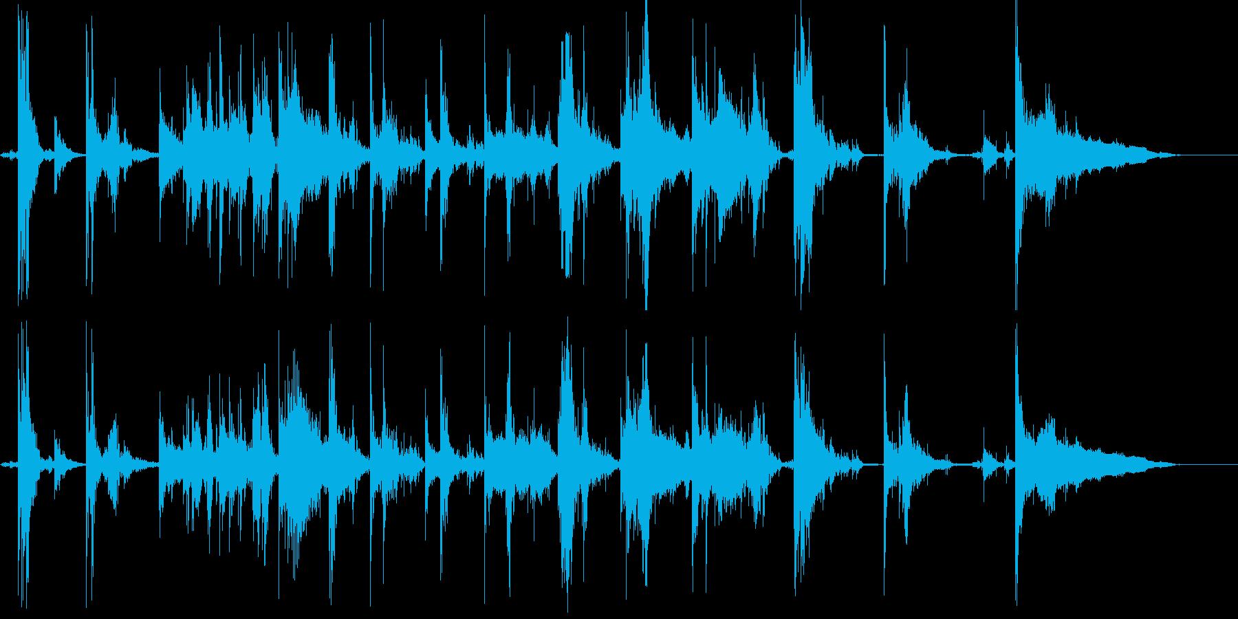 ジャラジャラ(コイン・支払い・払い出し)の再生済みの波形